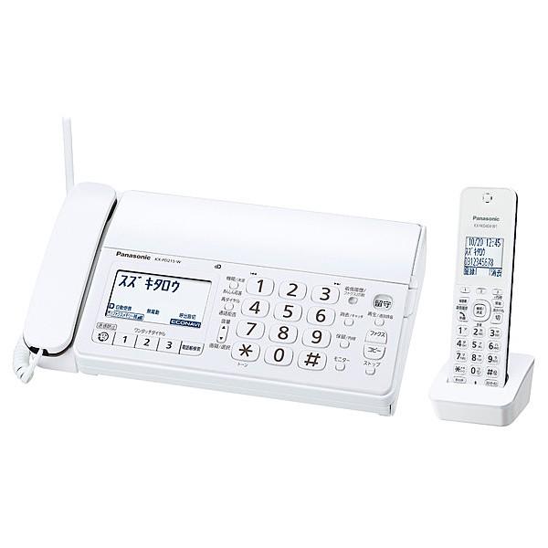 Panasonic [KX-PD215DL-W] デジタルコードレス普...