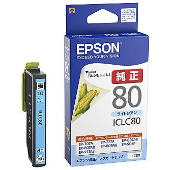 EPSON [ICLC80] カラリオプリンター用 インクカー...