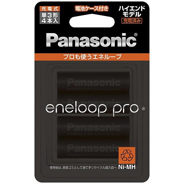 Panasonic [BK-3HCD/4C] エネループPRO 単3形 4本...