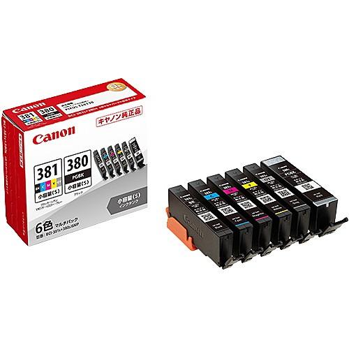 Canon [2344C004] インクタンク BCI-381s+380s/6M...