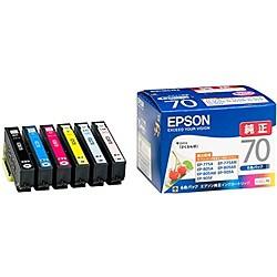 EPSON [IC6CL70] カラリオプリンター用 インクカ...