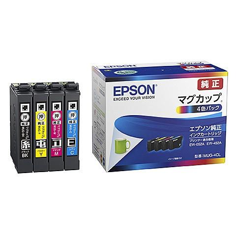 EPSON [MUG-4CL] インクジェットプリンター用 イ...