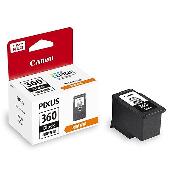 Canon [3709C001] FINE カートリッジ BC-360 ブラ...