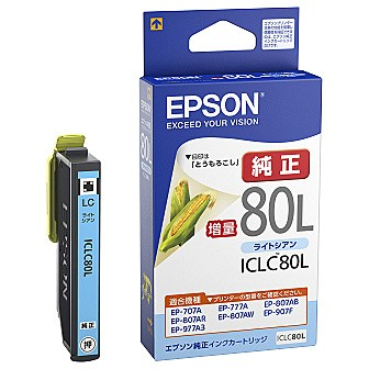 EPSON [ICLC80L] カラリオプリンター用 インクカ...