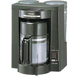 東芝 [HCD-L50M(K)] コーヒーメーカー (ブラック)...