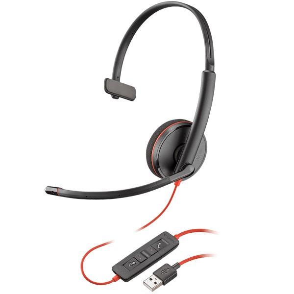 PLANTRONICS [PPBKW-C3210UA] USBヘッドセット Bl...