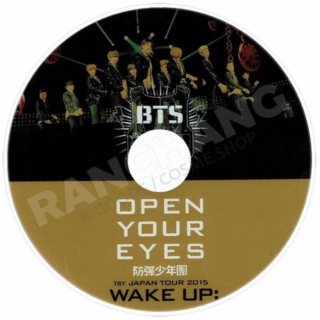 【K-POP DVD】☆★BTS 防弾少年団 OPEN YOUR EYES...