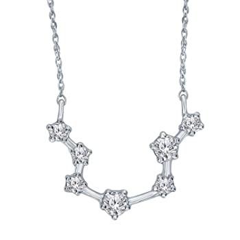 1/5 Carat Diamond Zodiac Constellation Aquariu...