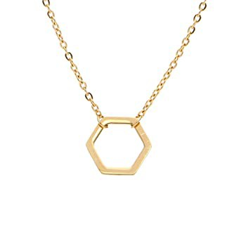 Stainless Steel Mathematical Geometry Hexagon ...