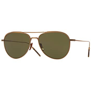 Oliver Peoples TK-3 Antique Gold w/G15 53-15-1...