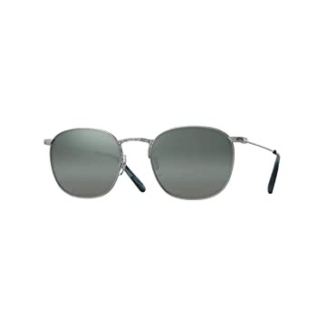 Oliver Peoples Goldsen Silver w/ Steal Gradien...