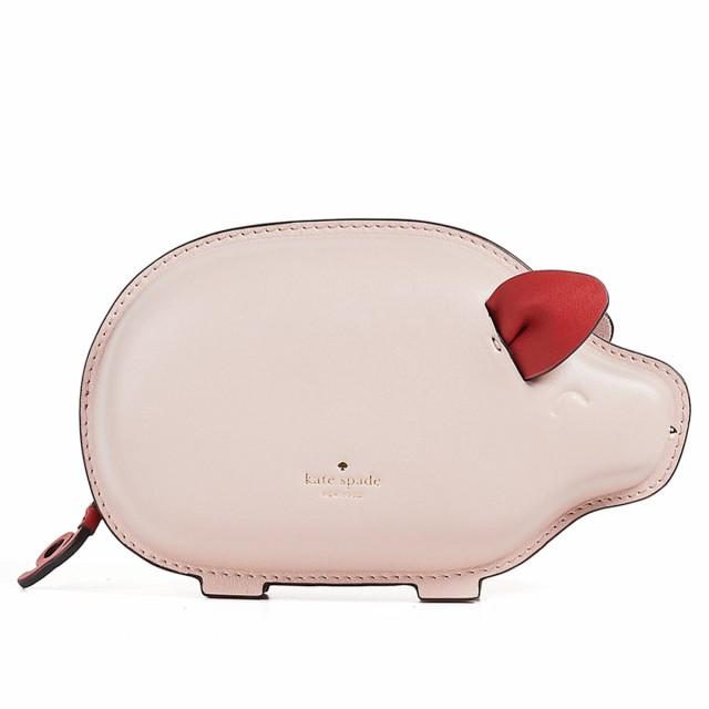 c88391755d2e ケイトスペード ショルダーバッグ ポシェット ピンク ピッグ アニマル ミニバッグ Kate Spade