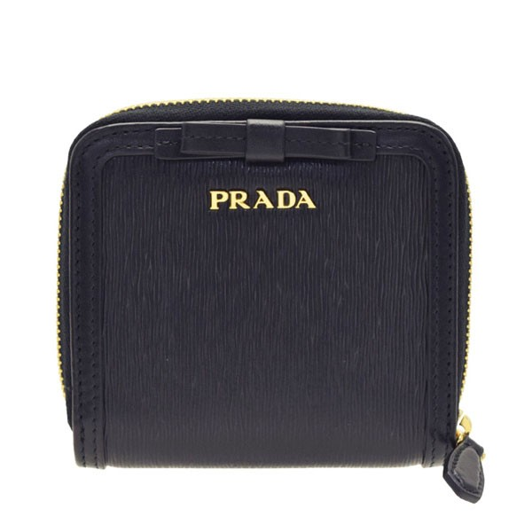 65fbd061759e プラダ 二つ折り財布 レディース PRADA リボン アウトレット 1ml522vimofi-nero
