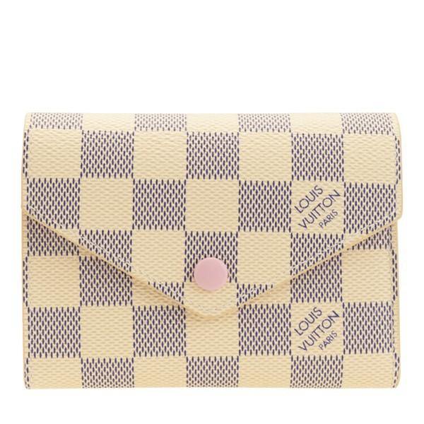 ルイヴィトン ミニ財布 財布 LOUIS VUITTON ショップ袋付き ダミエ ブランド ヴィトン 三つ折り n64022 レディース 女性 プレゼント ギフ