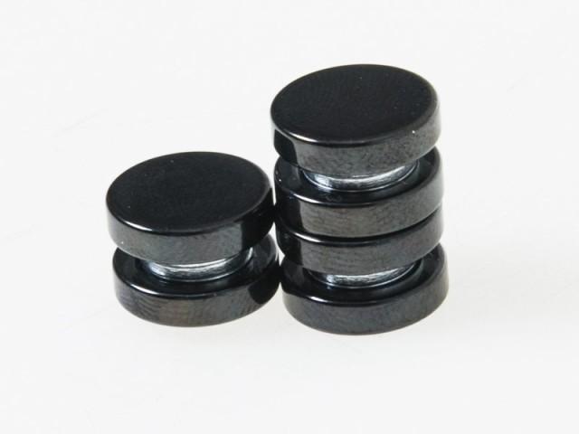 男女兼用 ファッション小物 丸型 磁石タイプ マグ...
