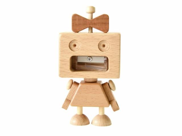 【carpenter】木製 可愛い ロボット ウッド シャ...