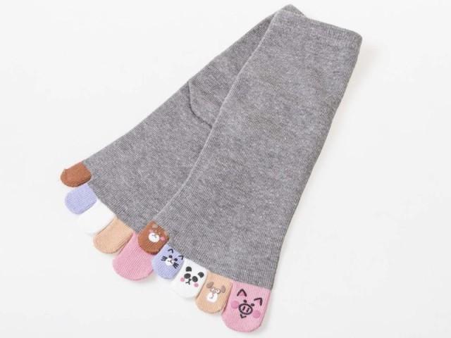 レディースファッション 五本指ソックス 女性用靴...