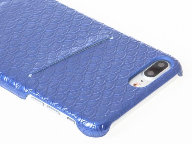 Apple iPhone 7 Plus iPhone 8Plus 用 魚ウロコ模...