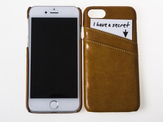 Apple iPhone 7 Plus 用 上質感 合成革 PUレザー ...