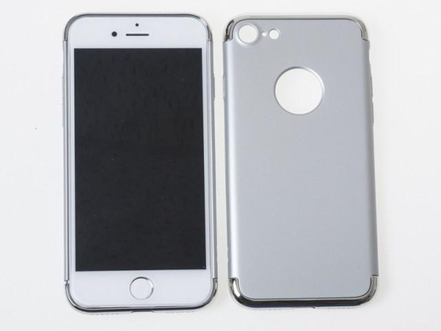 Apple iPhone 7 iPhone 8用 3段式タイプ マット調...