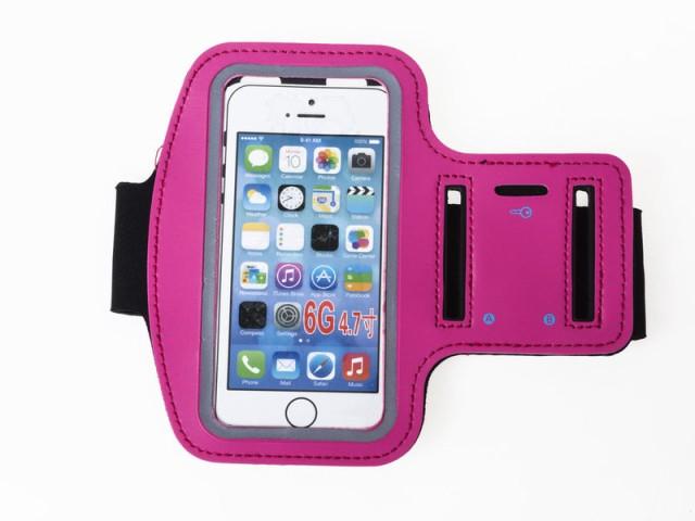 汎用 iPhone スマホ 4~5インチ対応 ランニング 運...