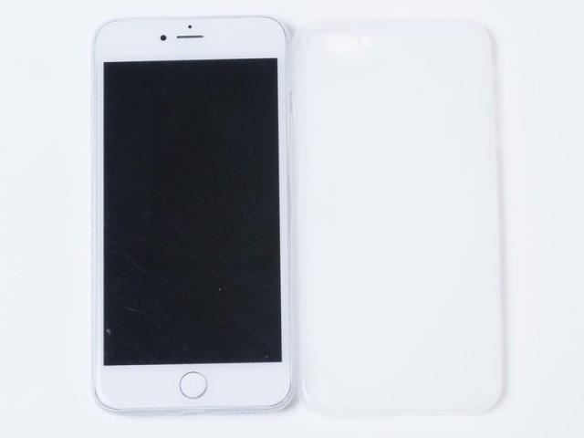 Apple iPhone 7 Plus極薄スリム 0.18mm マット保...