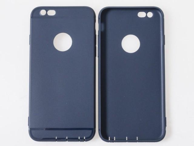 Apple iPhone 7 iPhone 8極薄 スリム ロゴフリー ...