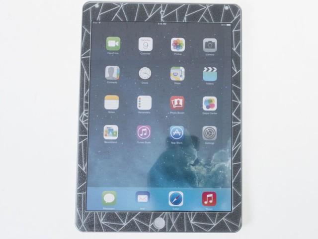 Apple 2017 iPad 9.7インチ用 ダイヤモンド模様 ...