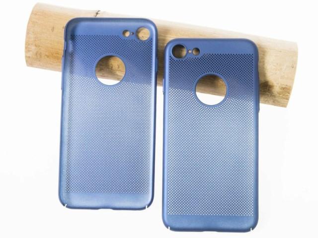 Apple iPhone 7 iPhone 8用 通気性 ドット穴あき ...