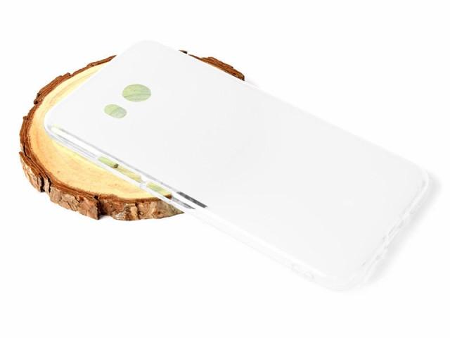 HTC U11 HTV33用 ソフトTPU製 セミクリア ケース ...