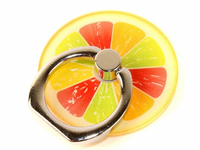フルーツ 果物 iPhone スマホ ホールド 落下防止 ...