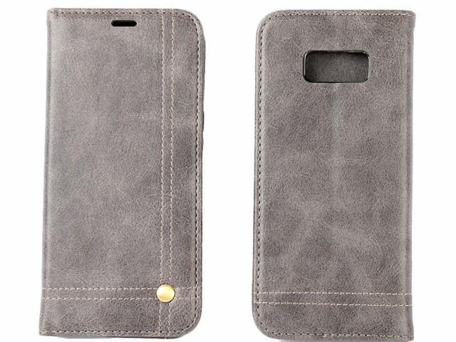 Samsung Galaxy S8 SC-02J SCV36用 PUレザー カー...