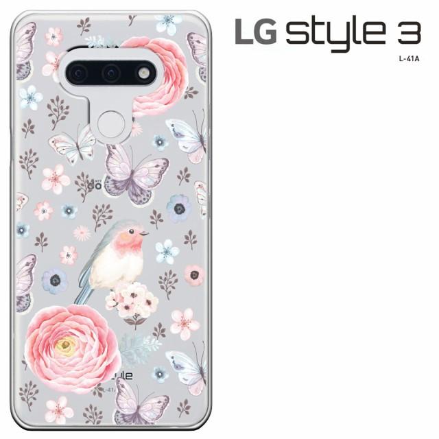 LG style3 L-41A ケース エルジー style 3 カバー...
