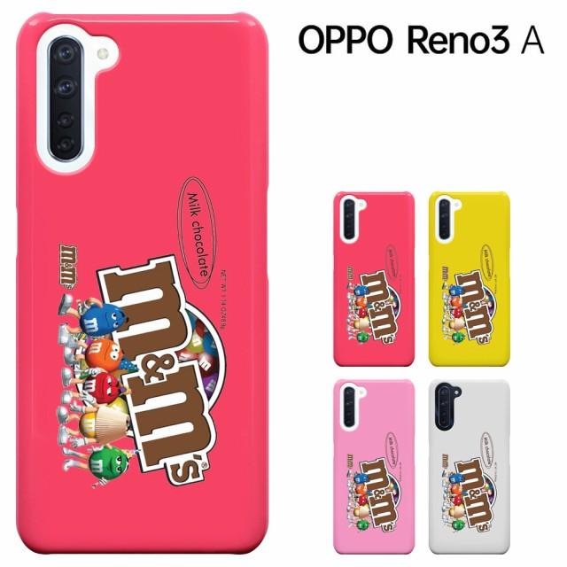OPPO Reno3 A ケース オッポ レノ3A カバーハード...