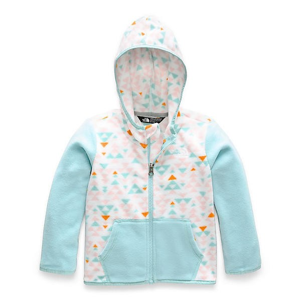 THE NORTH FACE TODDLER GLACIER FULL ZIP HOODIE JACKET TNF Blue SIZE 6T NWT