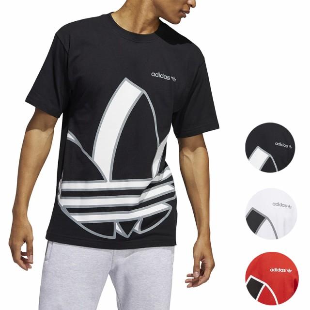 アディダス Tシャツ メンズ 半袖 ブラック/ホワイ...