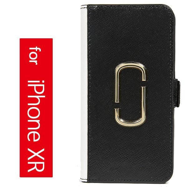 (取寄)マークジェイコブス ダブル J フォリオ アイフォン XR ケース Marc Jacobs Double J Folio iPhone XR Case BlackMulti