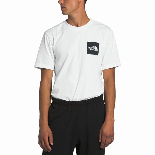 ノースフェイス Tシャツ メンズ 半袖 ホワイト 大...