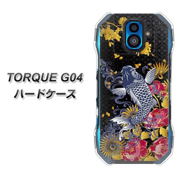 au TORQUE G04 ハードケース / カバー【1028 牡丹...