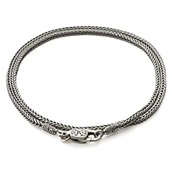 Konstantino Men's 925 Sterling Silver Chain an...