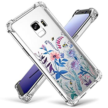 Case for Galaxy S9 Cutebe Shockproof Hard PC+...