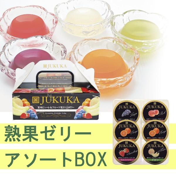 熟果ゼリーアソートBOX JK-6