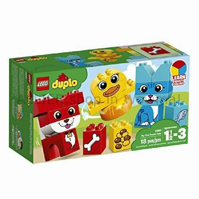 LEGO レゴブロック No.10858/私の最初のパズルペ...