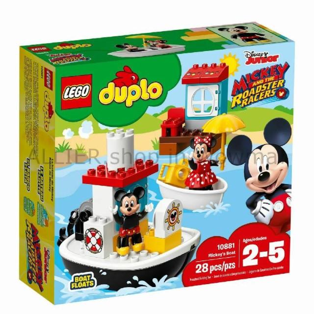 LEGO レゴブロック No.10881/ミッキーのボート Di...