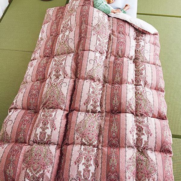 大判羽布団/掛け布団 【シングルサイズ】 防ダニ...