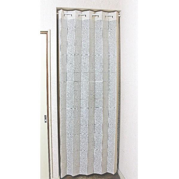 パタパタ間仕切りカーテン 日本製 幅98cmx長さ220...