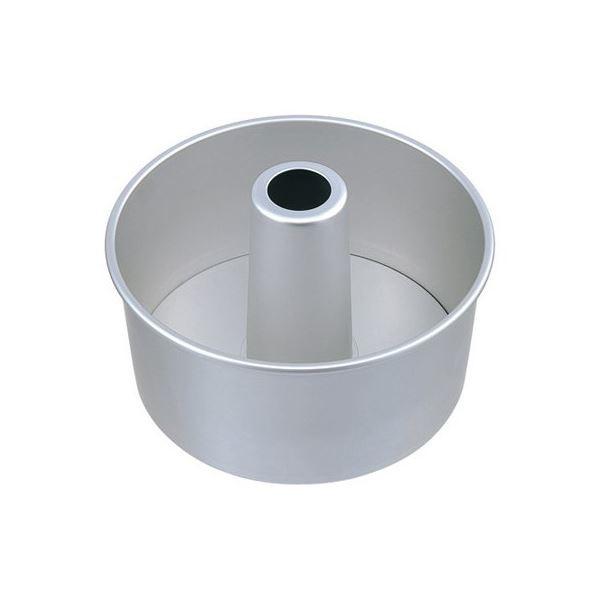 シフォンケーキ型 〔18cm〕 アルミ製 ツーピース...