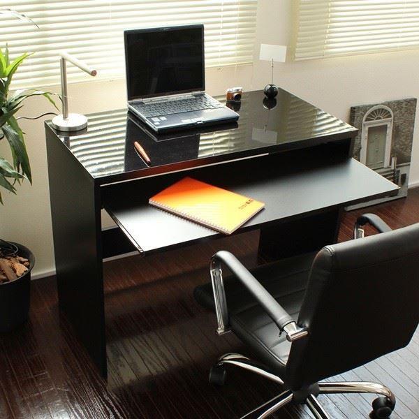 パソコンデスク スライド テーブル 90cm幅 日本製...