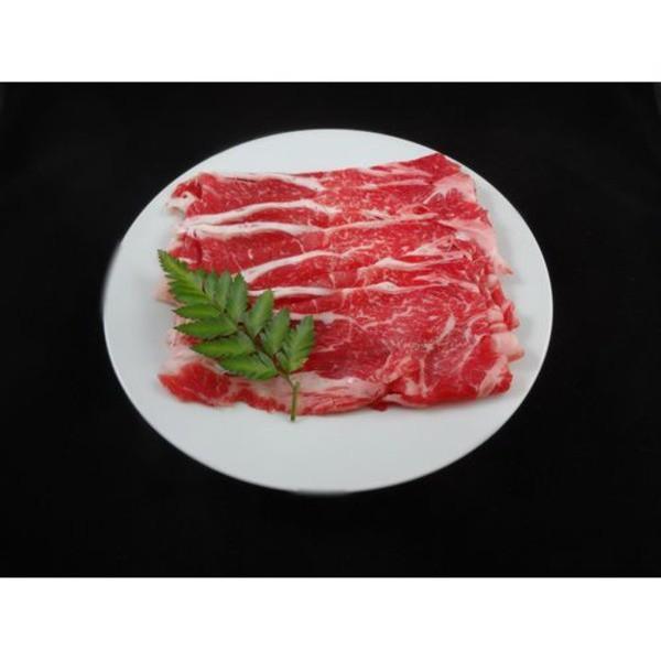国産牛 牛肉 〔肩ローススライス 500g〕 精肉 霜...