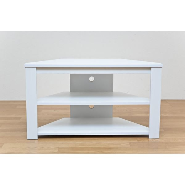 コーナーテレビ台/テレビボード 【幅80cm/20型〜3...